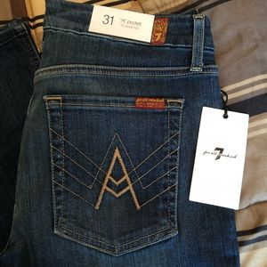 Women's NWT 7 for all mankind